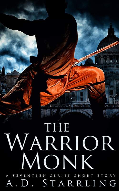 The-Warrior-Monk-800 Cover reveal and Promotional
