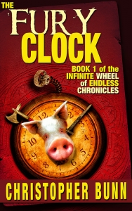 Fury Clock 800 Cover reveal and Promotional