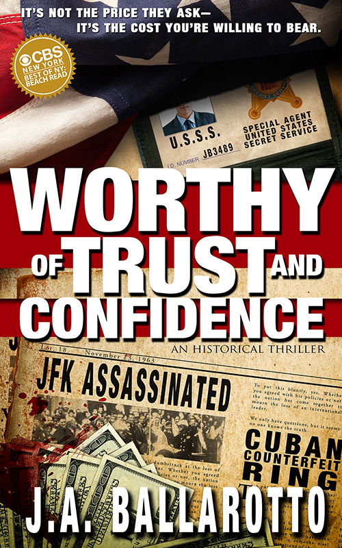 Worthy of Trust and Confidence 800 Cover reveal and Promotional