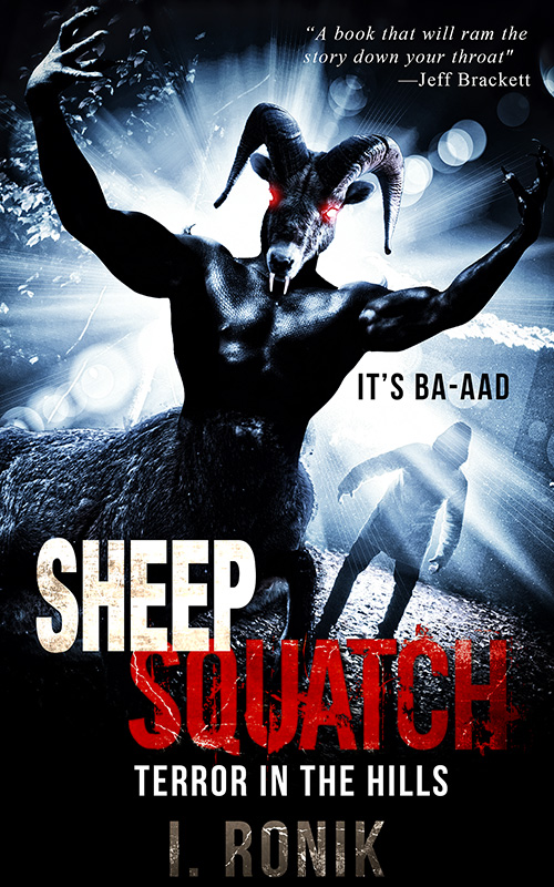 Sheepsquatch-800 Cover reveal and Promotional