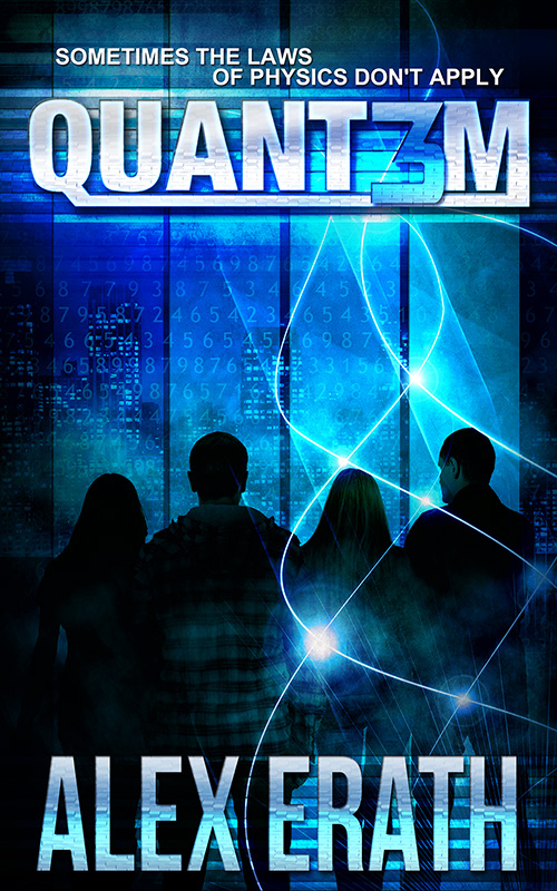 Quant3m 800 Cover reveal and Promotional